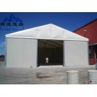 China Rooftop Large Warehouse Tent Color Printed With Hard Pressed Extruded Aluminum Alloy wholesale