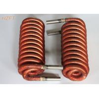 China High thermal Finned Coil Heat Exchangers For Fuel Gas Condensers , Fan Coil Unit wholesale