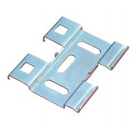 China Cable tray accessories - Q235 cold plate, hot dipping bottom connecting piece wholesale