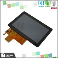 China 3D Printer 5 Inch Capacitive Touch Screen With RGB Interface / 800 x 480 Pixels on sale