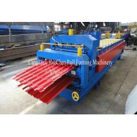 China Hydrauli Cutting Metal Roll Forming Machine Double Layer For Roof wholesale