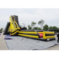 Buy cheap 70' X 32' X 33' Yellow And Red Giant Inflatable Water Slide Deagon Head Shape from wholesalers
