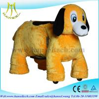 China Hansel stuffed animals / riding on toy,battery operated ride animals wholesale