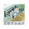 China Easy To Assemble Modern Kitchen Accessories Shelf Bowl Basket Chrome Finish wholesale