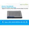 China Ремоте инфракрасн интерфейса черного случая телевизионной приставки Мпег2 СД ДВБ к стального аудио видео- wholesale