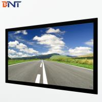 China 135 inch projection screen black velvet surface with screen fabric BETFS9-135 wholesale