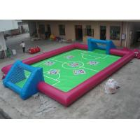 China Interactive Sports Inflatable Outdoor Toys Abrasion Resistance Blow Up Football Pitch wholesale