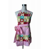Fashion Lady Custom Printed Sexy Cotton Kitchen Apron Ruffle