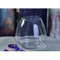 Popular High Quality Custom Crystal Glass Candle Vessels For Decoration