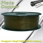 1.75 Mm 3D Printer Metal Filament Aluminum Copper Bronze Red Copper Brass