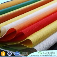 China polypropylene nonwoven fabric ,TNT,textile fabric, 10gsm~200gsm,from china manufacture wholesale
