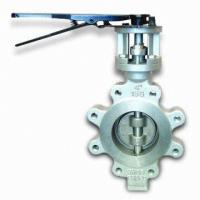 China 60 Inch Stainless Steel Butterfly Valve BS 5155 Metal Seated Butterfly Valves wholesale