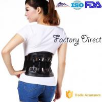 China Elastic Leather Sports Protective Gear Back Braces For Lower Back Pain wholesale