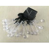 Buy cheap Outdoor 20 LEDS Christmas Decorative Solar String Lights 0.5W - 4W from wholesalers