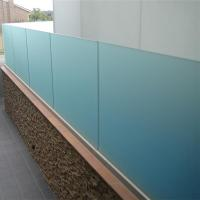 China China high quality frameless tempered interior glass railing on sale