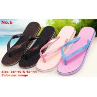 China Good Quality Rubber EVA Women Sandal for Summer Indoor/ Outdoor/Beach wholesale