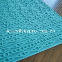 China Customized eva+ rubber foam sheet for sole soft  with 3D pattern wholesale
