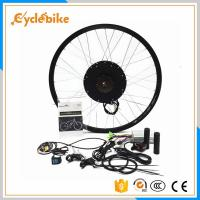 China 1500w Motor Electric Bike Kit 16 Inch - 28 Inch Wheel For Diy Electric Bicycle on sale