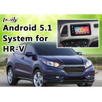 China 1.6GHZ 4 Core Andorid 5.1 GPS Honda Video Interface for HR - V support Google Play on sale