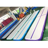 Buy cheap EN71 Air Track Tumble Track For Gymnastics 5m 6m 8m 10m 12m Custom Size from wholesalers