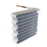 China Copper Finned Tube Microchannel Heat Exchanger for Air Conditioner Products wholesale