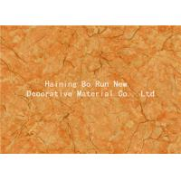 China Yellow Pet Heat Transfer Film Hot Stamping Foil For Wall Panel Good Effect wholesale