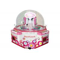 China 1 Player Claw Crane Machine With Lcd Screen / Arcade Toy Grabber Machine on sale