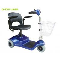 China Lightweight 24V Electric 3 Wheel Mobility Scooter 8Km / H For Disabled on sale