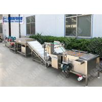 China Customized Mutuality Function Fruit And Vegetable Processing Line on sale