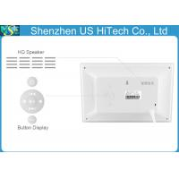 China Multi - Function 10 Inch LCD Digital Photo Frame With Human Sensor wholesale