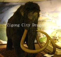 China Animatronic Mammoth Animal Model wholesale