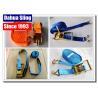 China PE Webbing Ratchet Strap Parts Cargo Lashing Straps With Hooks 50mm wholesale
