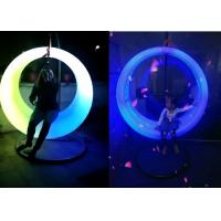 Buy cheap Battery Power Outdoor LED Light Furniture Circle Lighting Swing For Plaza Park Decoration from wholesalers