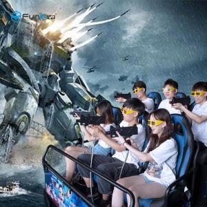 China Amusement 8.0kw 80pcs 7D 5D Cinema Simulator With 8 9 12 Seats wholesale