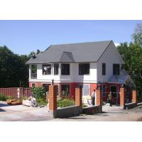 China Modular Light Galvanized Steel Structure Villa Built In Russia ISO SGS Approved wholesale