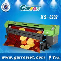 China Garros 3.2m epson Dx5 head / 1440dpi eco solvent printing machine on sale
