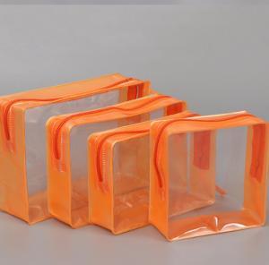 China Heat Seal Soft EVA Cosmetic Bag , Multi Functional Square Cosmetic Bag wholesale