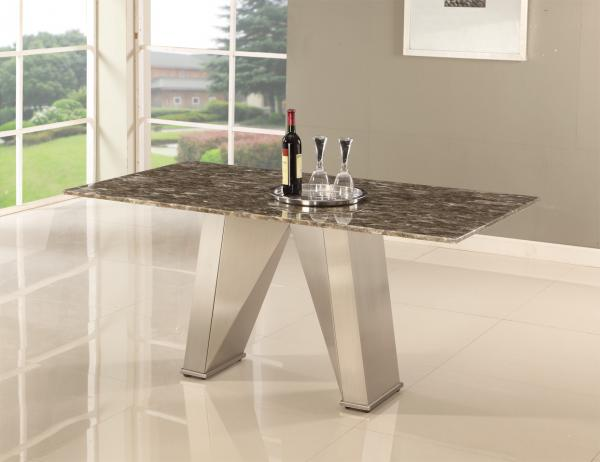 Quality Artistic Modern Lobby Marble Dining Tables Custom Modern Loose Furniture for sale