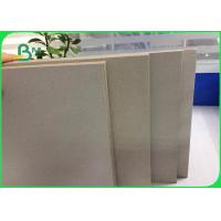 China Recycled Pulp Laminated Grey Board 3.0mm Gray Paperboard For Advertising Board wholesale