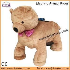 China Wholesale Electric Dinosaur with Plush Costume, Zippy Ride Walking Animal Rides Supplier on sale