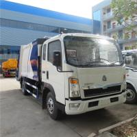 China customized SINO TRUK HOWO RHD 8CBM garbage compactor truck for overseas client, HOT SALE! HOWO refuse garbage truck wholesale