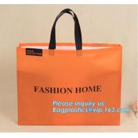 China OEM Production Hot Sale Non Woven Bags Customized, recycled custom printing grocery tote shopping pp non woven bag non w on sale