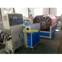 China Plastic Pipe Extrusion Line PVC Fiber Reinforced Hose Pipe Making Machine wholesale