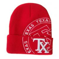 China Custom hat embroidery and professional knitted beanie embroidery with knitted in logo wholesale