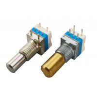 China 360° Total Rotational Angle Incremental Encoder With Push Switch For Audio Equipment wholesale