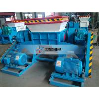 China tire recycling machine Metal Shredder Machine Heavy Metal Shredders Plant Iron for the Scrap wholesale