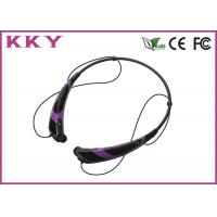 China Bluetooth Handsfree Headset , Bluetooth Cellphone Headset Noise Reduction wholesale