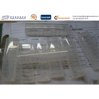 China Polymer Injection Molded Plastic Parts , Clear PP plastic storage boxes Top Hinged wholesale