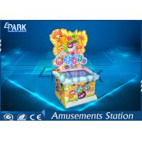 China Lovely Design Coin Operated Hammer Game Machine With Colorful Light Box wholesale