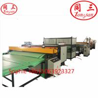 China 2100mm PP sheet making machine for clear corrugated plastic sheets wholesale